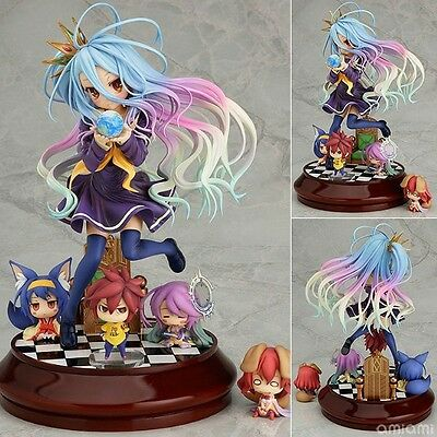 New Anime No game No life Imanity Shiro 1/7 scale Painted PVC Figure Gift