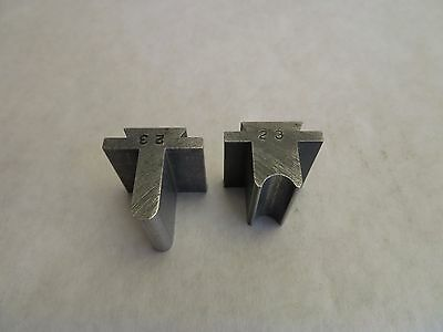 Helmold JA Richards Steel Rule 2 Pc Bending Die Set # 23 Tool