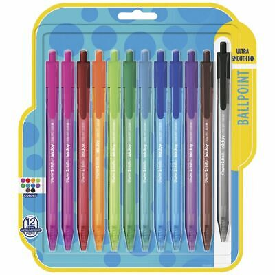PaperMate Inkjoy 100 Ballpoint Retractable Pens 12 Pack
