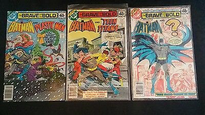 Batman: Brave and the Bold (1st Series) RUN                       #148, 149, 150