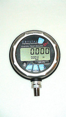 Crystal Digital Test Guage XP2i 300 PSI