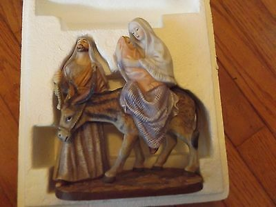 Masterpiece Porcelain by Homco - Flight Into Egypt Figurine - 1992 - Excellent!