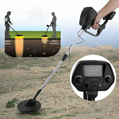 "51"" Gold Finding Metal Detector Treasure Hunter Waterproof Coil Sensitive Search"