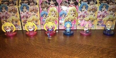Sailor Moon Petit Chara GLITTER Mini Figure Megahouse Super CHIBIMOON Uranus Lot