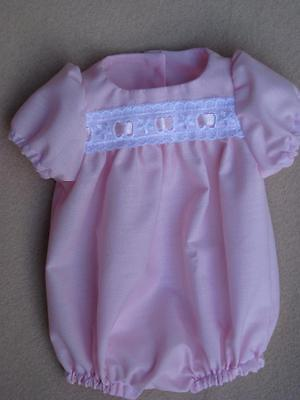 12-14 inch ROMPER Reborn Doll - Hand Made clothing