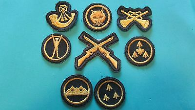 Collection of Royal Canadian Army Cadets Trade Badges