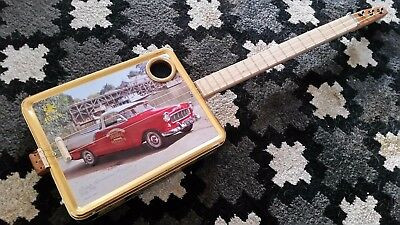 cigar box guitar - hand crafted by salty dog CBG
