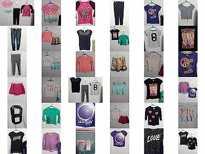 Girls Size 7/8 Clothes, Justice Tops, Jeans, Skirts, Clothing, Outfits Lot