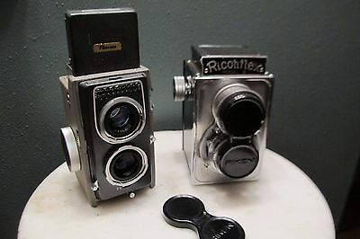 Ricohmatic 44 and Ricohflex III TLR cameras - for parts or repair
