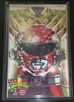 Boom! Mighty Morphin Power Rangers MMPR 0 ComicsPro Variant! Only 144 copies!