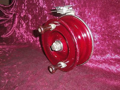 Vintage Charles Alvey And Son Brisbane Fishing Reel Wooden Mod. 650 A37.