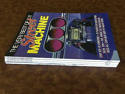 THE VERY BEST OF STREET MACHINE MAGAZINE. THE FIRST 4 EDITIONS. No.s 1, 2, 3 & 4