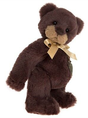 Collectable Charlie Bear 2017 Plush Collection  - Dave - Small & Cute