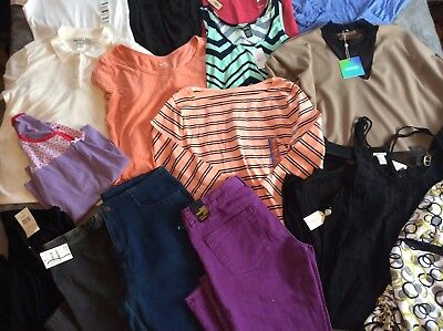 16 Piece Women's New Clothes Lot Target Old Navy Large XL
