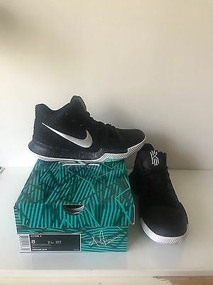 Nike Basketball Kyrie Irving 3 Black Ice Men's Size Us8