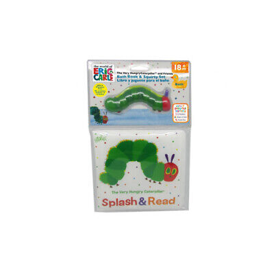 The Very Hungry Caterpillar Bath Book & Squirty Set - Splash & Read