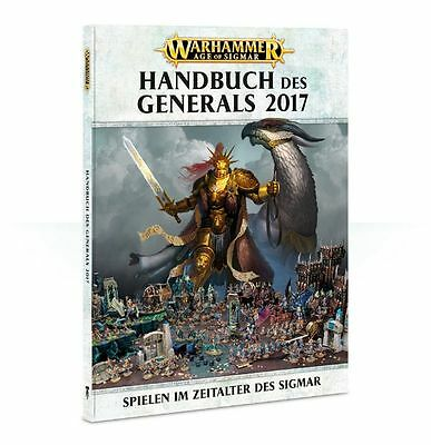 Age of Sigmar General's Handbook 2017 (Deutsch) AoS Regelbuch Games Workshop NEU