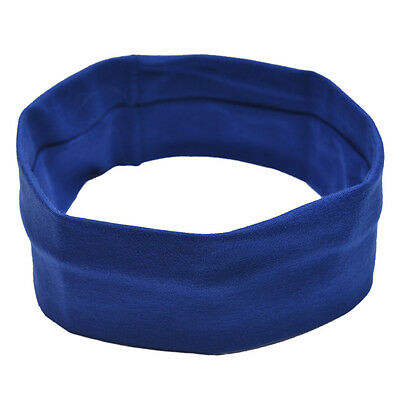 Ladies Yoga Band  Women Elastic Turban Hair Band Headband