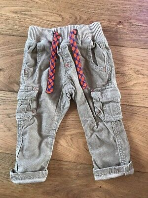 Next Cord Trousers With Pockets 3-6 Months