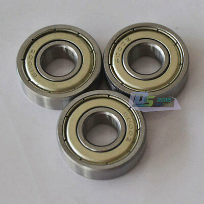 Bearings 6001 ZZ 2Z Dual Side Iron Sealed Deep Groove Ball Bearing 12 x 28 x 8mm