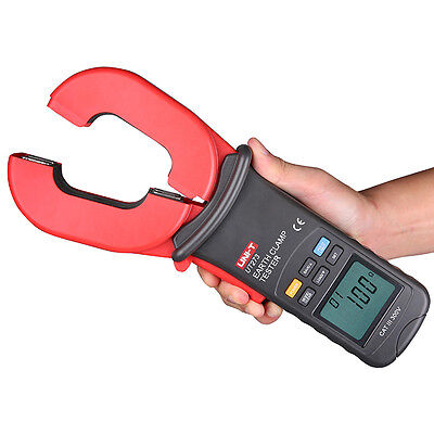 "UNI-T UT273 0.01~1000Ω Earth Ground Resistance Clamp Meter  Auto Range 2.2"" LCD"