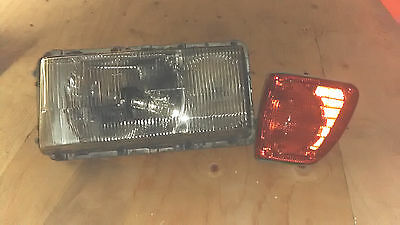 Mercedes W116 Bosch Euro Left Front LF Driver Side Headlight & Turn Signal