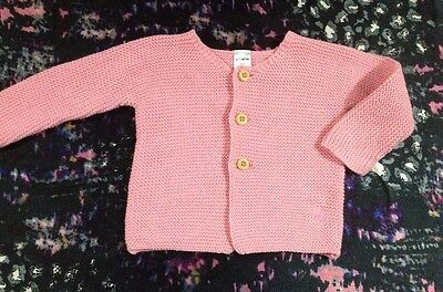 Bonds Baby Girls Cardigan Size 6-12 Months 0