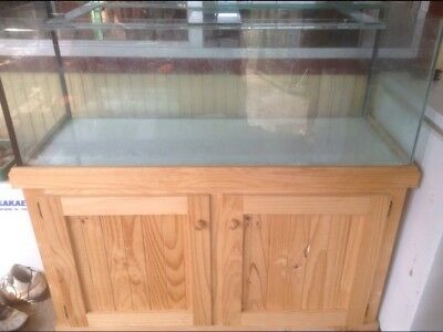 Extra Wide 4Ft Tank And Cabinet...Quality