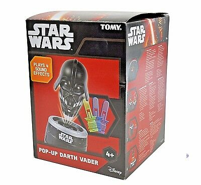 Pop-Up Darth Vader Game Brand New Tomy Age 4+ Star Wars Version Of Pop Up Pirate