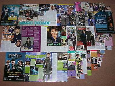 35- DANIEL RADCLIFFE Magazine Clippings