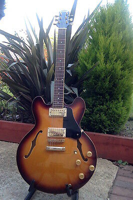 vintage Artisan (Ibanez) 335 semi acoustic archtop hollow electric guitar - MIJ