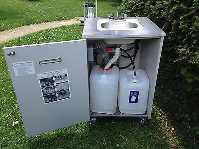 Portable Hand Wash Sink Station with Hot Water Heater Commercial NSF