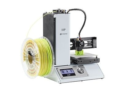 Monoprice Mini 3D 1.75mm Printer with Micro SD full kit sample PLA filament