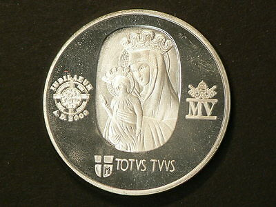 2000 Italy Roma ANNO SANTO Silver Proof  Medal  13.7g 35mm #G7048