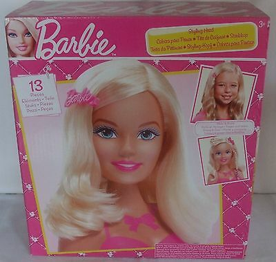 Barbie Styling Head 13 Pieces