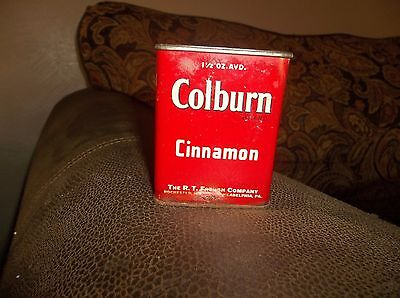 Vintage R. T. French Co. Colburn Cinnamon Tin Full Unopened