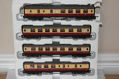 Hornby Made In China Rake Of 4 Br (Ex Lms) Coaches Ex Train Set