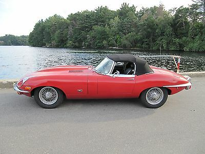 1971 Jaguar E-Type OTS JAGUAR 1971 E TYPE ROADSTER