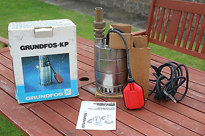 Grundfos Pump Kp-200 New Never Used