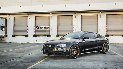2013 Audi RS5 Black Audi RS5 Coupe Black 2013 Custom Modified by TAG Motorsports