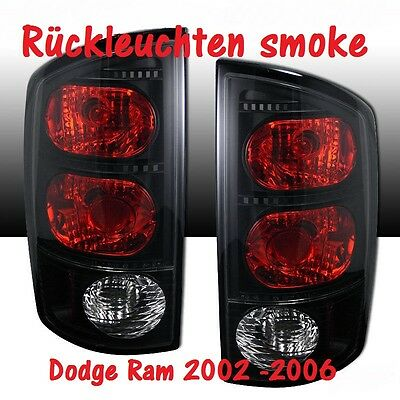 Rückleuchten smoke black Dodge Ram Bj 2002-2008 Tail Lights >>> LAGERWARE <<<