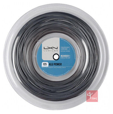 Luxilon Big Banger Alu Power 125 Tennis String 220m Reel - Silver