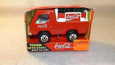 1989 Buddy L Mini Coca Cola Delivery Truck MIB