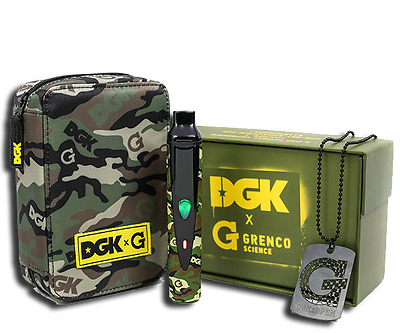 Original DGK Herbal Vaporiser Snoop Dogg Vape ECigarette Kit Military DGK*