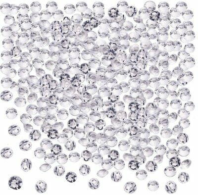 5000-50000 Clear Wedding Top Table Scatter Crystals Diamond Confetti Party Decor