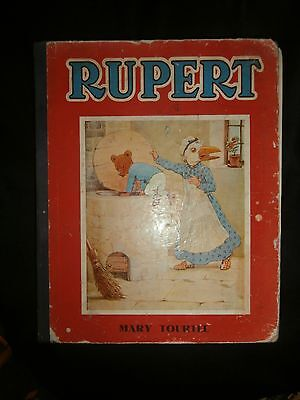 Rupert THREE STORIES OF THE LITTLE BEAR'S ADVENTURES by MARY TOURTEL M&S LIMITED