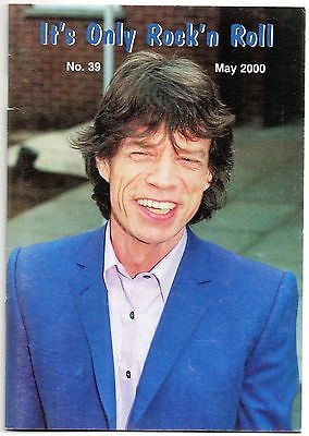 ROLLING STONES FAN CLUB MAGAZINE - IT'S ONLY ROCK 'N ROLL - No 39 - MAY 2000