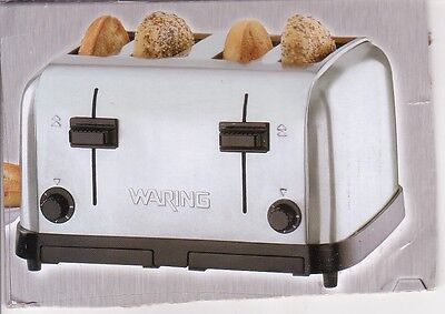 Waring Wct708 Commercial Pop Up Toaster 4 Slice New In Box