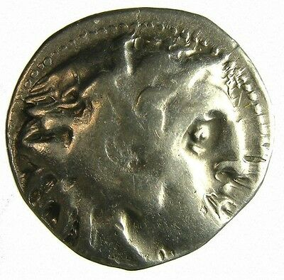 Alexander III The Great Silver Drachm 336-323 BC VF