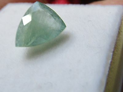 Certified 1.37ct Good Trillion Cut Grandidierite.